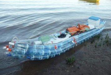 Łódź wykonana z plastikowych butelek. Warto spróbować