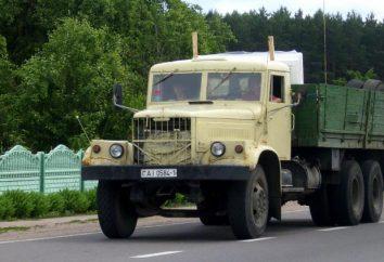 KrAZ-257: características e peculiaridades