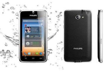 Philips Xenium W8500: dane techniczne, opinie, odblokowanie