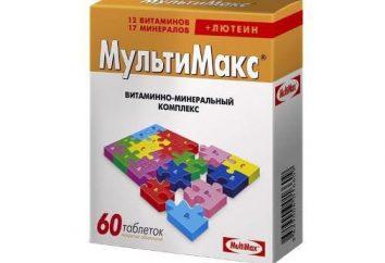 """""""Multimaks"""" (vitamines): mode d'emploi, la composition, les analogues"""
