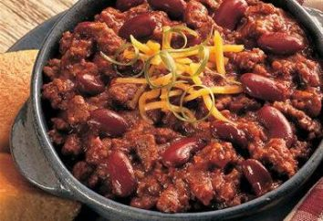 Comment faire cuire chili au Texas