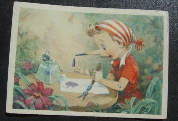 Jak narysować piękny Pinokio?