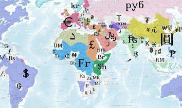 Designazione di valute. norme di Forex e mondiali