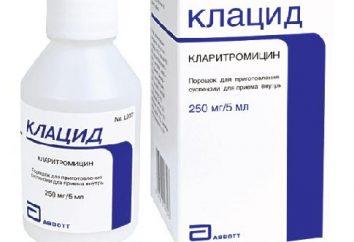 """Lek """"Klatsid"""" – zawiesina do skutecznego zwalczania zakażeń"""
