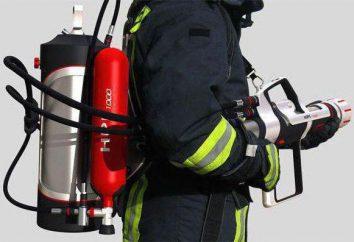 Extintor de incendios manual: reglas de aplicación y selección