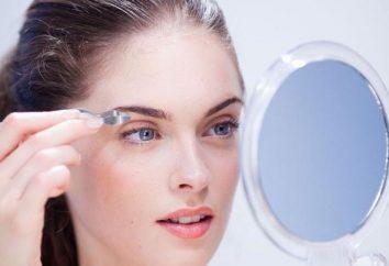 Wie zupfen Augenbrauen zu Hause: Tipps und Tricks