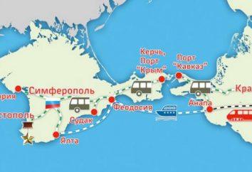 Route Anapa – Simferopol: superação