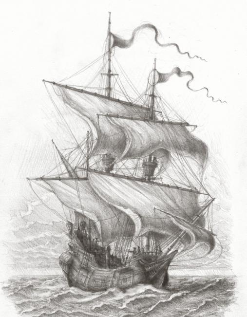 """Molto La nave """"Black Pearl"""": come rendere le proprie mani WU11"""