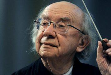 Conductor Gennady Rozhdestvensky: biografia, atividade profissional, a vida pessoal