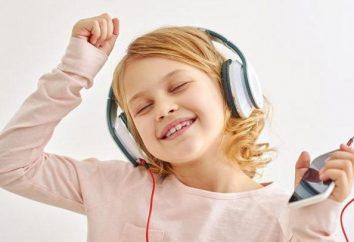 La maggior parte delle cuffie di musica per i bambini: una rassegna di tipi, modelli e recensioni