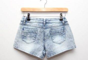 Jeansowe szorty – zachętę zrobić figurę