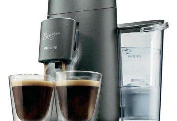 macchine per il caffè Philips: guide, recensioni, foto