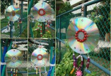 Crafts von der CD-ROM. Was von dem CD-ROM-Laufwerk zu machen