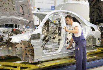 """Factory """"Mercedes"""" in Russland. Daimler-Projekt eine Fabrik in den Vororten Mercedes zu bauen"""