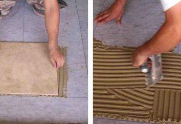 Jak położyć płytki na podłodze: Zalecenia