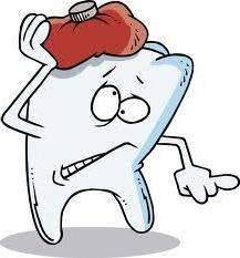 Znieczulenia krople zębów