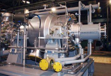 Equipamento especial: um compressor centrífugo