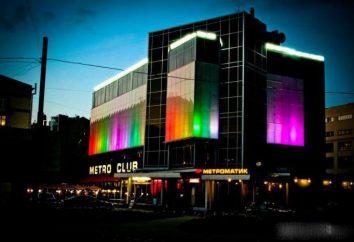Vie nocturne capitale du Nord: le club « Metro » (Saint-Pétersbourg)
