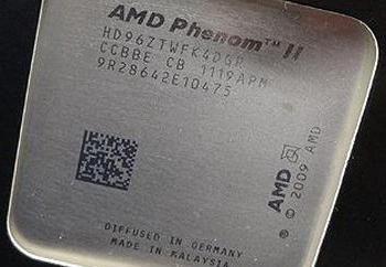 AMD Phenom II X4 960T Procesor: opis, cechy i recenzje