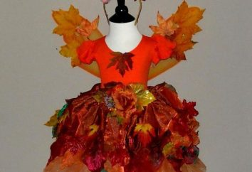 garnitury jesień dla dziewcząt. Zrób strój własnymi rękami