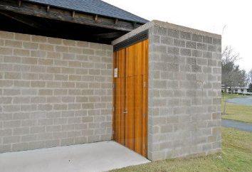 Bain de blocs d'argile expansé: ce qui est nécessaire pour sa construction