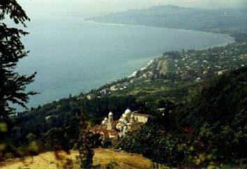 Abchazja miasta. Główne ośrodki