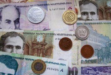 moeda nacional da Arménia: a história do surgimento e aparência