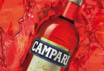 """Bitter """"Campari"""": opis, skład, historia, pochodzenie i opinie"""