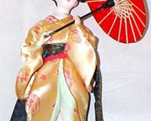 muñecas japonesas Ningyo con sus propias manos