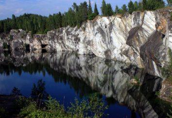 kamieniołomy marmuru. Kamieniołom marmuru, Karelia