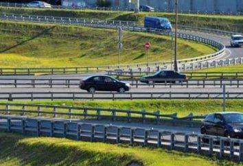 La première route à péage en Russie. La qualité des routes russes