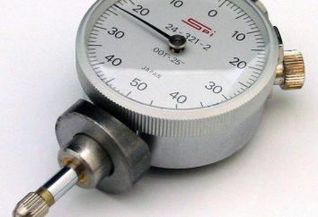 Indicador del tipo de reloj: descripción, características del dispositivo
