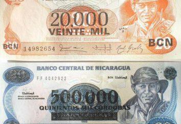 moeda da Nicarágua. A história e o aparecimento de Córdoba