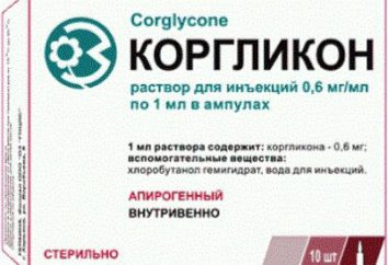 """Lek """"Korglikon"""": instrukcję obsługi, cena, analogi i odczytów"""