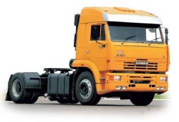 Kamaz 5460 – sztandarowy samochód ciężarowy siodła KamAZ.