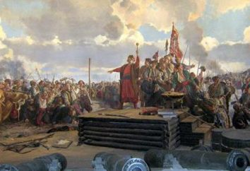 Peter Kalnyshevsky: biografia. Canonização chefe Petra Kalnyshevskogo