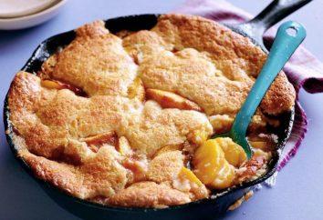 Torta en la sartén con las manzanas: recetas de cocina y características