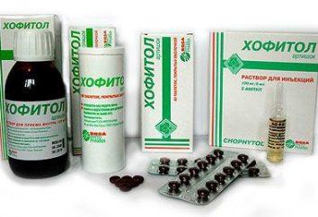 """""""Hofitol"""" – ein Analogon des Medikaments. Wenn Sie benötigen einen Ersatz holen"""