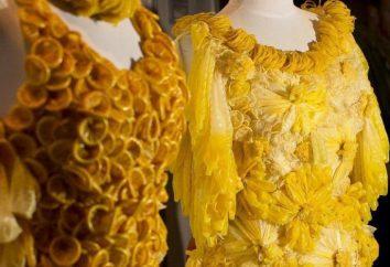 Kleid aus Kondomen – erstaunlich schön!