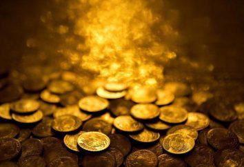 Trouvez rêve d'or. interprétation des rêves