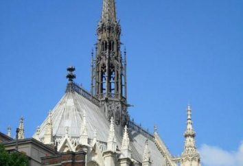 Sainte-Chapelle. atracções de Paris