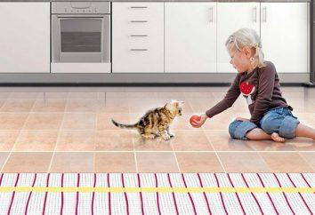 Um piso quente sob o azulejo, laminado, linóleo. Qual é melhor? Como escolher?