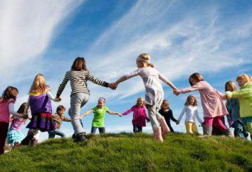 Impreza jest Międzynarodowy Dzień Dziecka. Scenariusz wydarzeń świątecznych