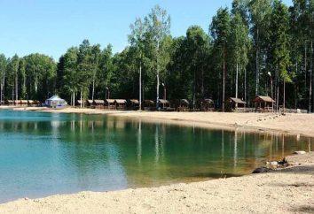 Azure jezioro w regionie leningradzkim: jak dostać się z Petersburga, warunków plaży i rekreacji