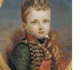 Napoleão II – herdeiro do imperador