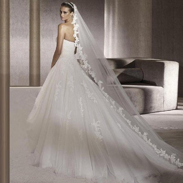 Lange Brautschleier Eigenschaften Typen Und Die Beste Kombination Aus