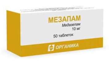"""""""Medazepam"""": Opinie lekarzy, instrukcje, ceny"""