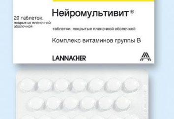 « Neyromultivit »: analogique russe d'un pas cher