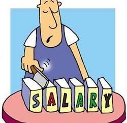 salaire net et brut – c'est l'ampleur?