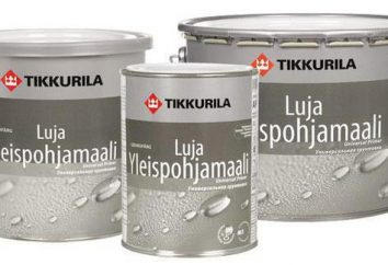 "Primer e pintura ""Tikkurila Luya"""
